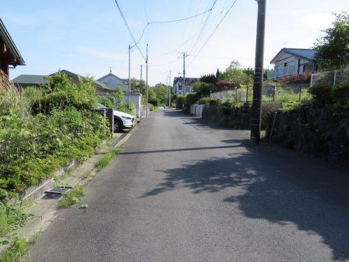 敷地前の道路(周辺)