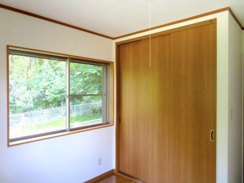 1階5帖の洋室の収納