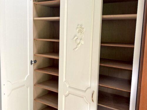 収納力のあるシューズボックス(玄関)