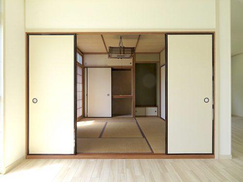 LDと続く和室(居間)