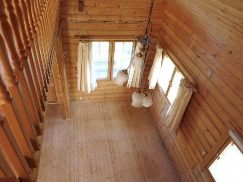 2階から見たリビングダイニング(居間)
