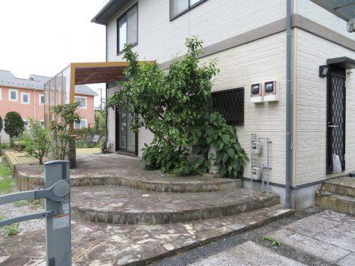 裏側駐車場からの外観(外観)